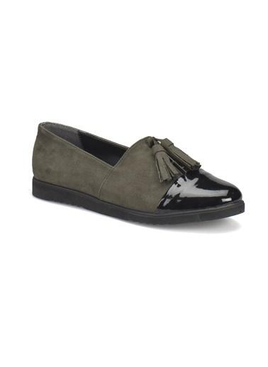Miss F Ayakkabı Haki